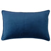Lucia Pillows | Size 16X28 | Color Navy