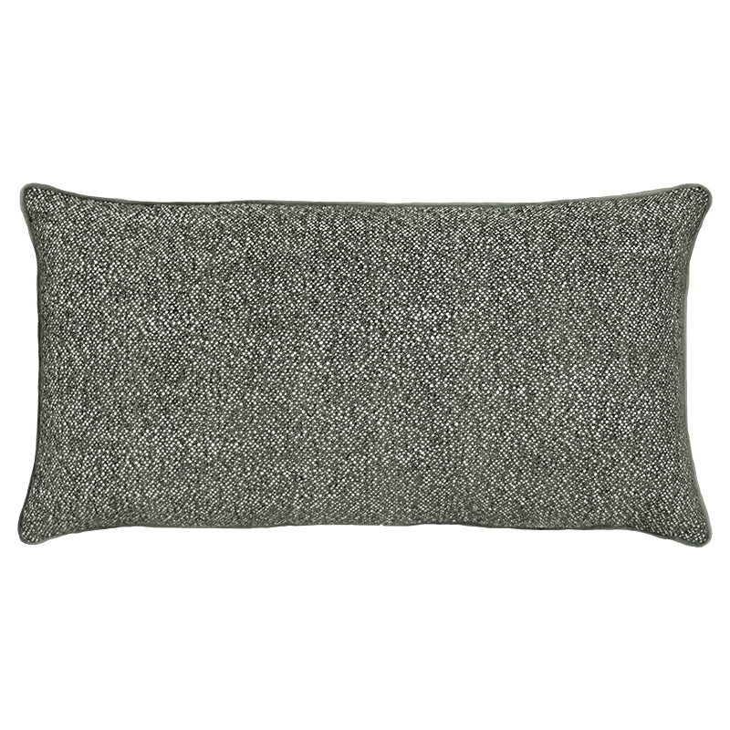 Lucia Pillows | Size 16X28 | Color Charcoal