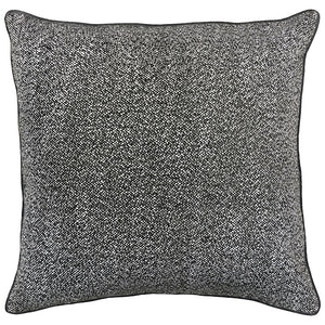 Lucia Pillows | Size 23X23 | Color Charcoal