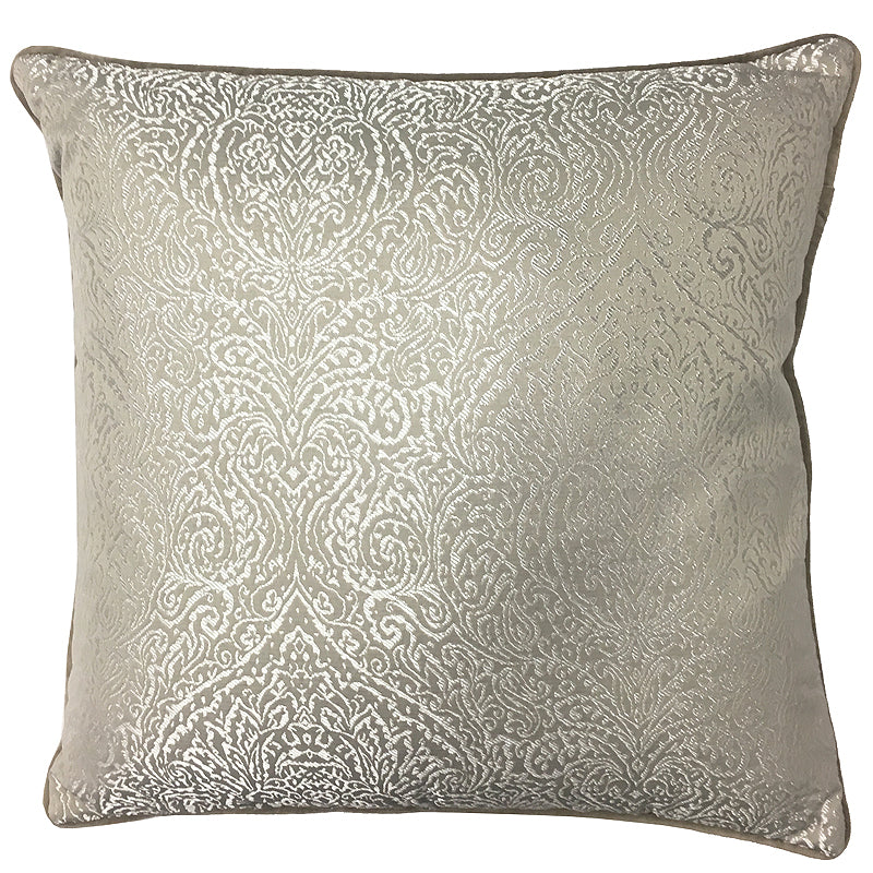 Madeline Pillow | Size 20X20 | Color Gray