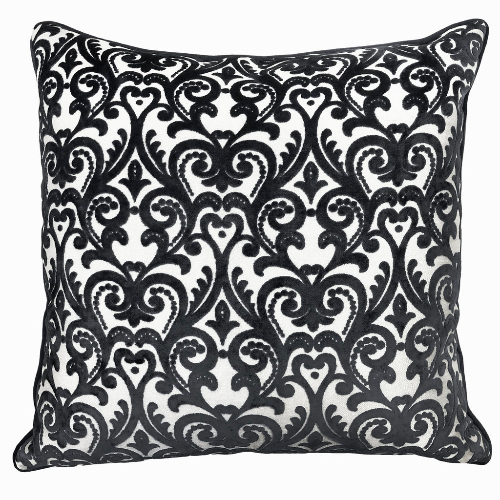 Madsen Pillows | Size 23X23 | Color Black