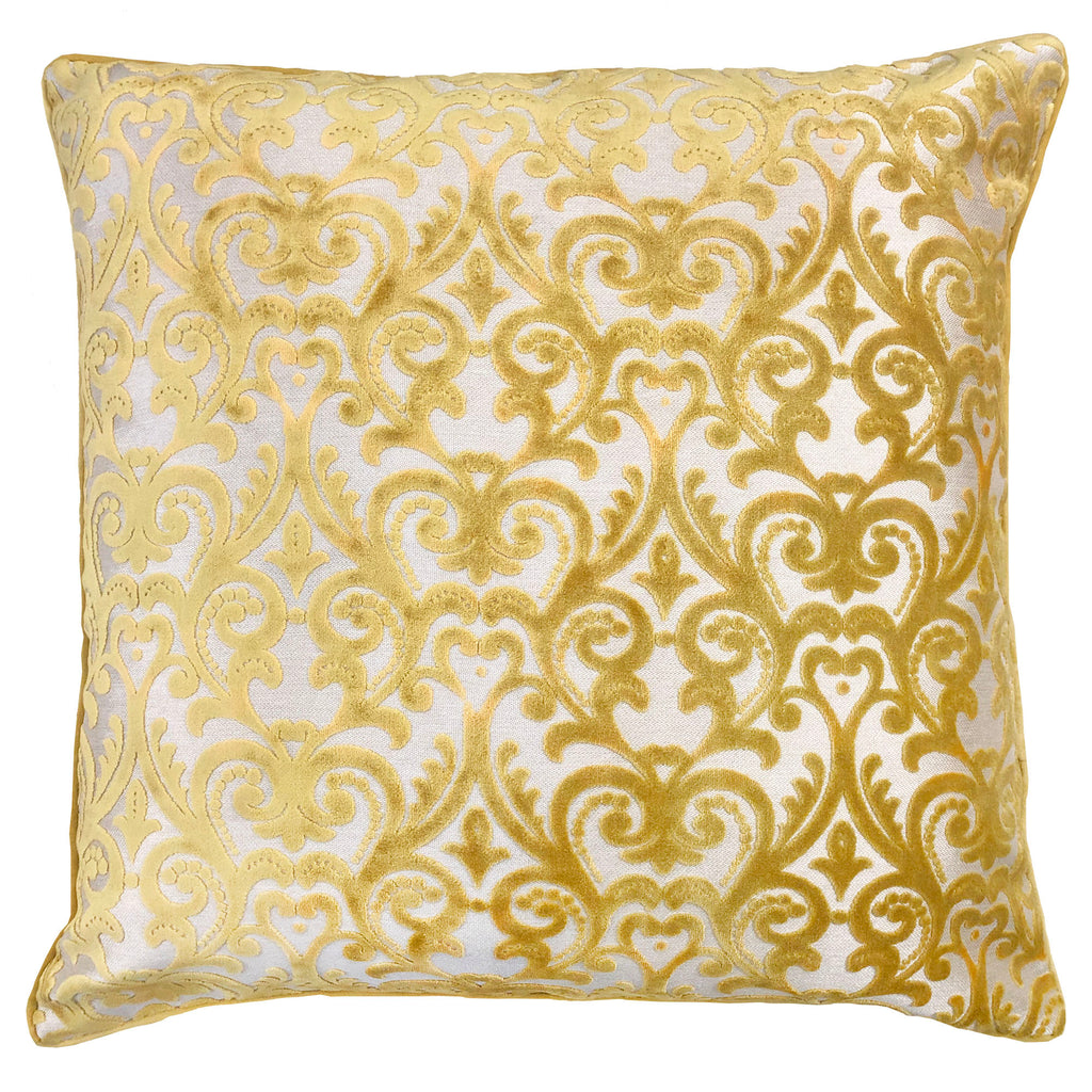 Madsen Pillows | Size 23X23 | Color Gold