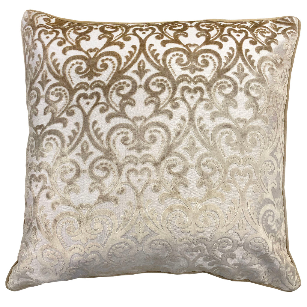 Madsen Pillows | Size 23X23 | Color Beige