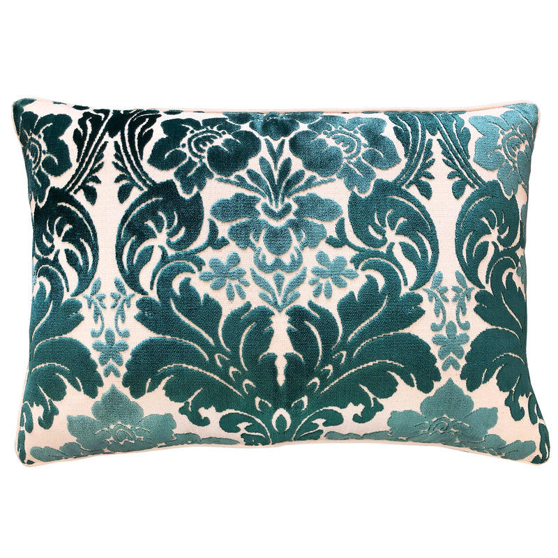 Marsel Pillows | Size 18X26 | Color Turquoise