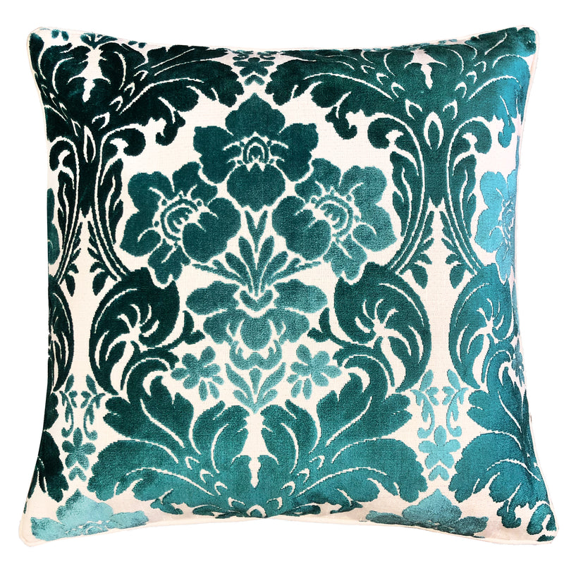 Marsel Pillows | Size 23X23 | Color Turquoise