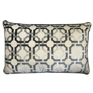 Martina Pillow | Size 16X26 | Color Gray
