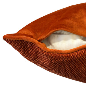 Merida Pillow | Size 20X20 | Color Rust