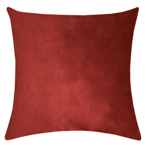 """Merry"" Embroidery on Velvet Pillow 