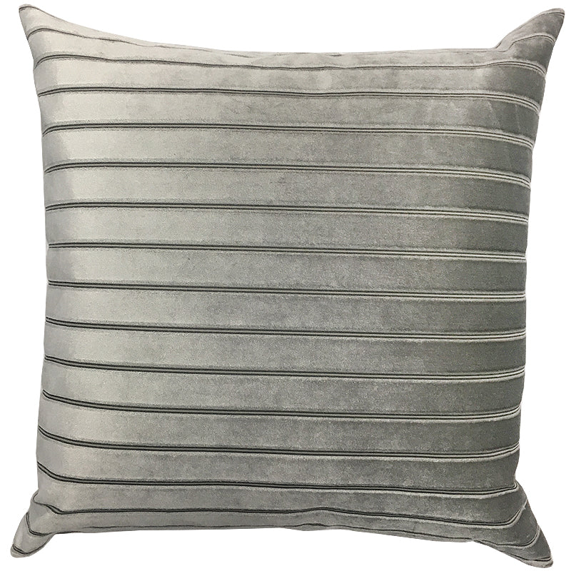 Milly Pillow | Size 20X20 | Color Silver