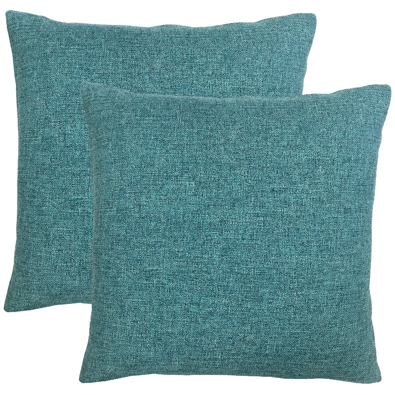 Mona 2 Pack Pillows | Size 20X20 | Color Cerulean