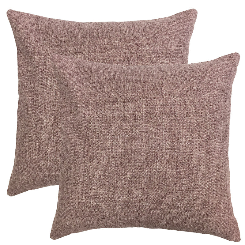 Mona 2 Pack Pillows | Size 20X20 | Color Amethyst