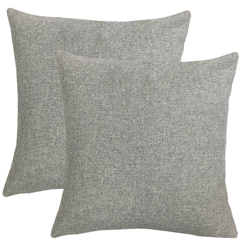 Mona 2 Pack Pillows | Size 20X20 | Color Silver