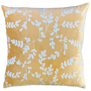 Morell Pillow | Size 20X20 | Color Gold/White - Rodeo Home