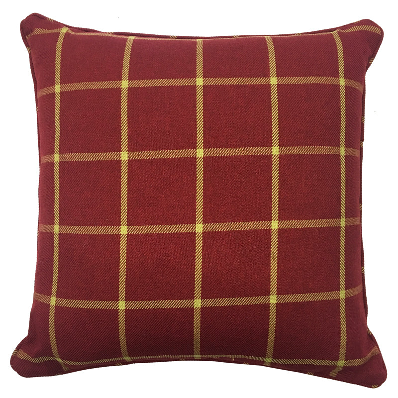 Murphy Pillow | Size 20X20 | Color Wine