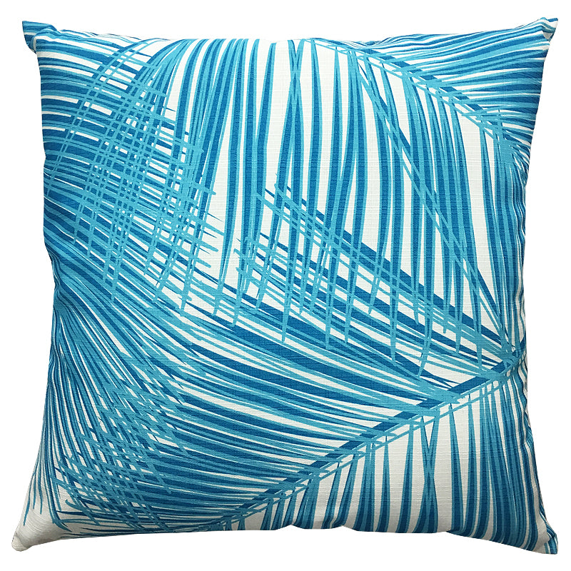 Mykonos Pillow | Size 20X20 | Color Azure