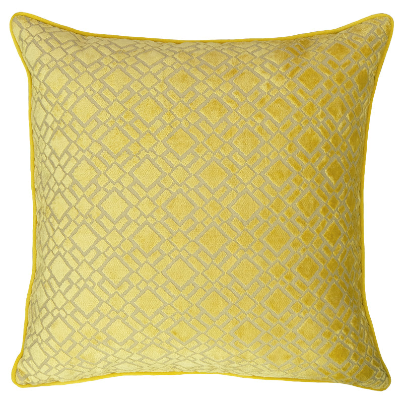 Nala Pillows | Size 20X20 | Color Mimosa