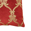 Nutcracker Pillows | Size 20X20 | Color Scarlet/Gold