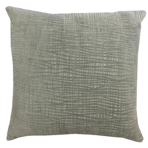 Olga Pillow | Size 20X20 | Color Silver