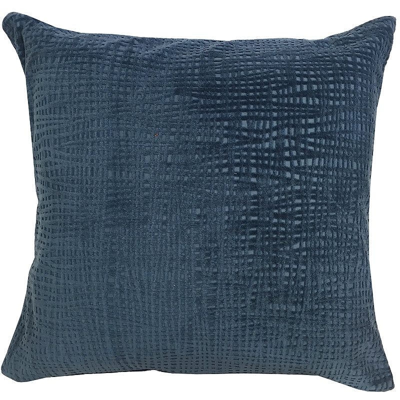 Olga Pillow | Size 20X20 | Color Ocean