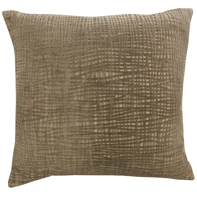 Olga Pillow | Size 20X20 | Color Latte