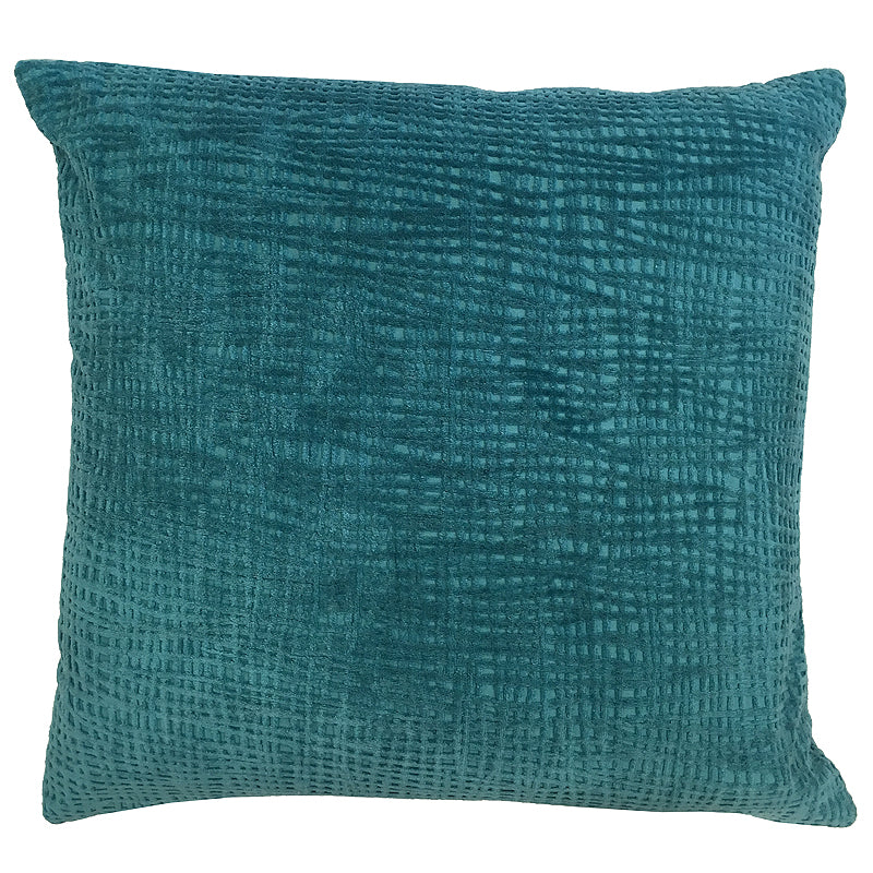 Olga Pillow | Size 20X20 | Color Teal