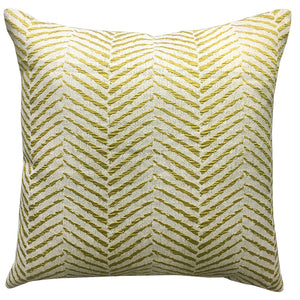 Oslo Pillow | Size 20X20 | Color Citron