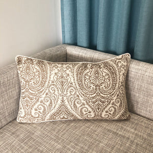 Polina Pillow | Size 16X26 | Color Mocha
