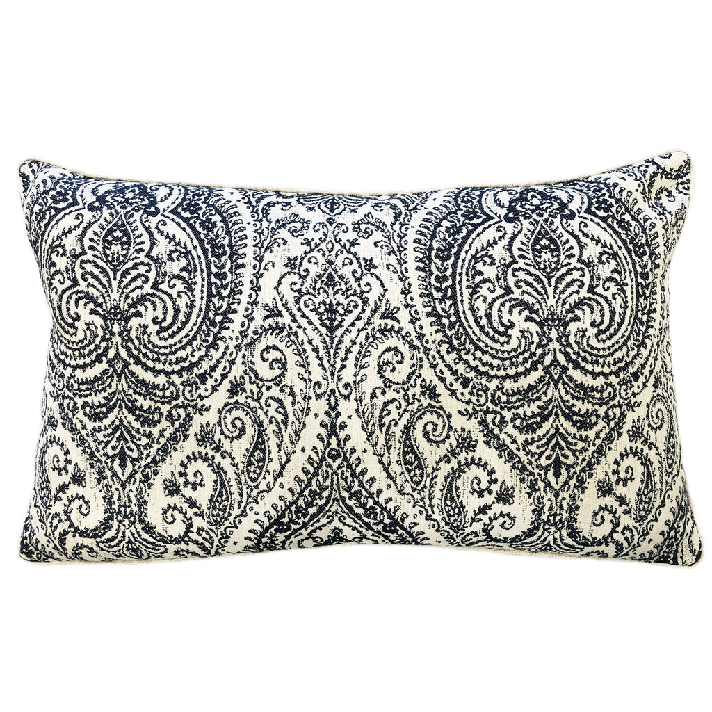 Polina Pillow | Size 16X26 | Color Navy