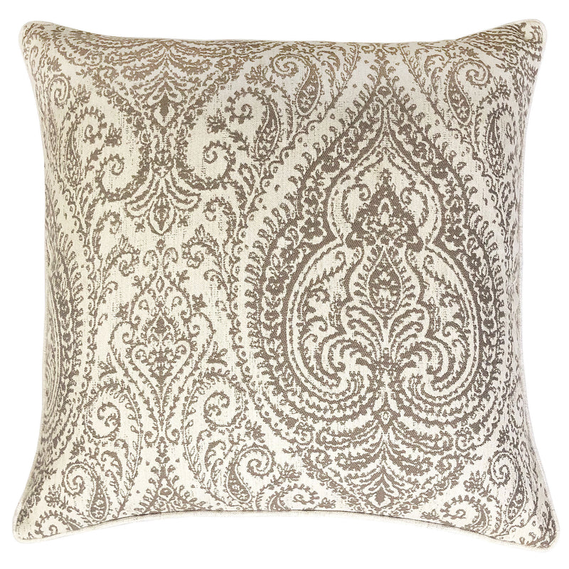 Polina Pillow | Size 20X20 | Color Mocha