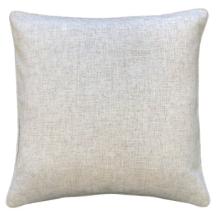Polina Pillow | Size 20X20 | Color Gray