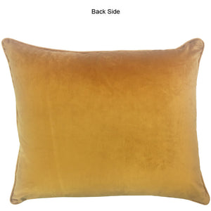 Regis Pillow | Size 20X24 | Color Tangerine
