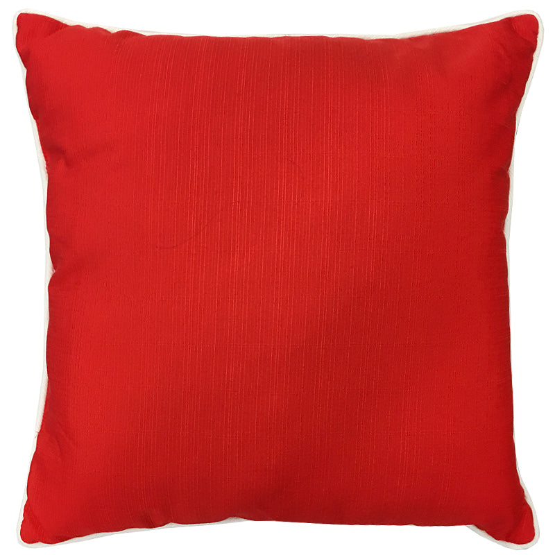 Rhodes Pillow | Size 20X20 | Color Coral