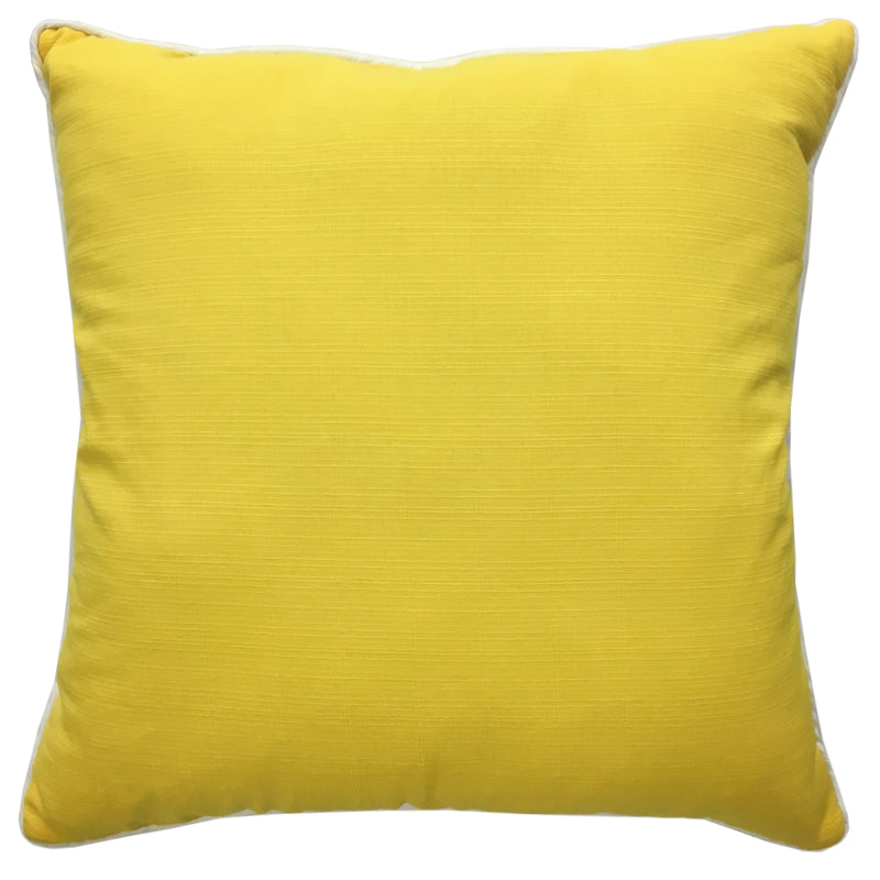 Rhodes Pillow | Size 20X20 | Color Sunshine