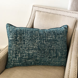 Robyn Pillow | Size 18X26 | Color Peacock