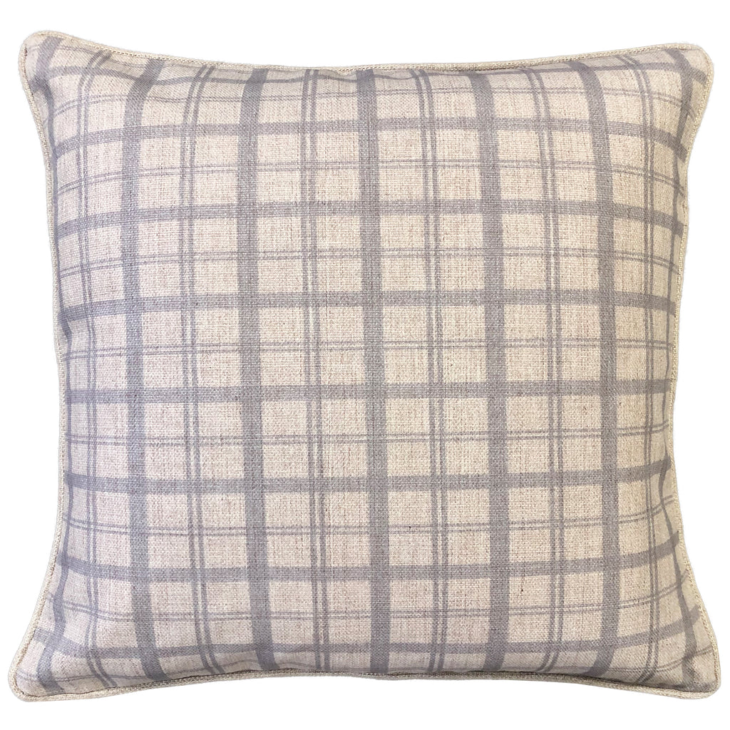 Saira Pillows | Size 20X20 | Color Silver