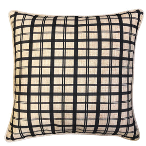 Saira Pillows | Size 20X20 | Color Charcoal