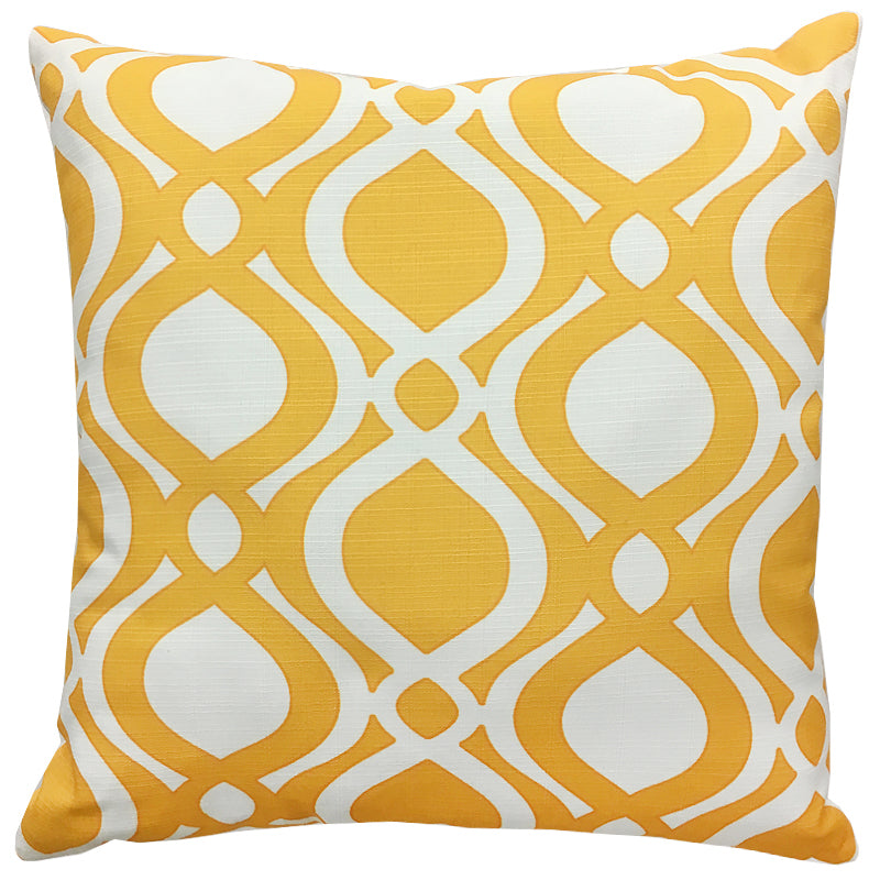Santorini Pillow | Size 20X20 | Color Sunshine