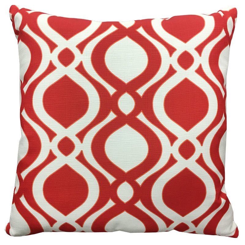 Santorini Pillow | Size 20X20 | Color Coral