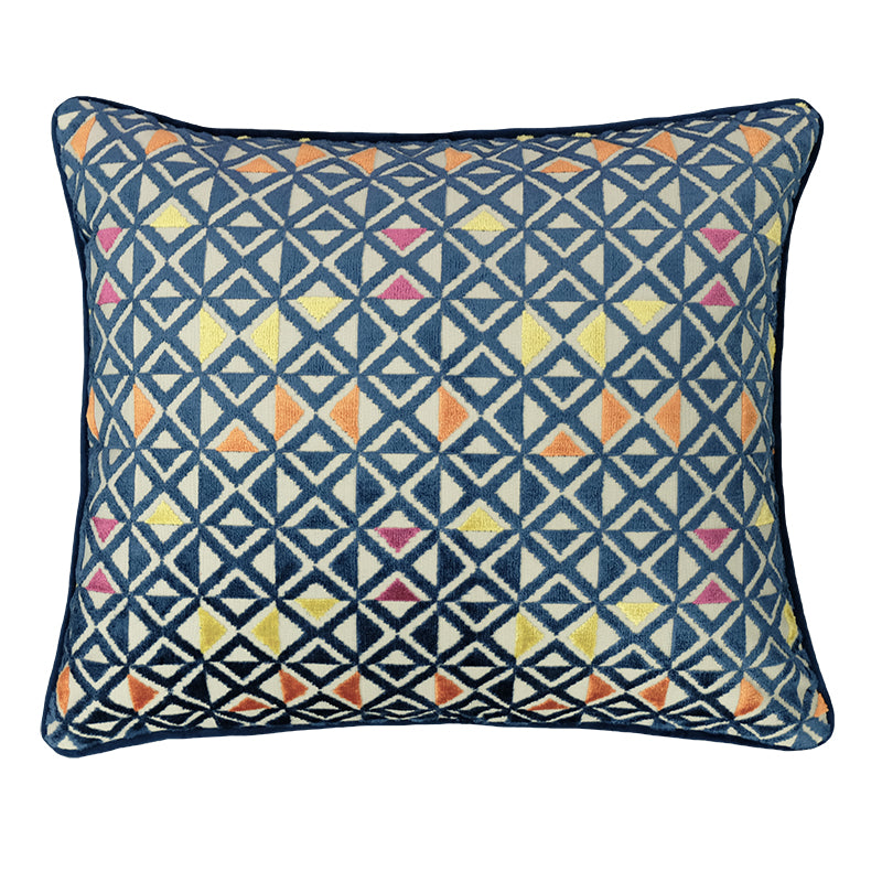 Sebastian Pillows | Size 18X20 | Color Sapphire