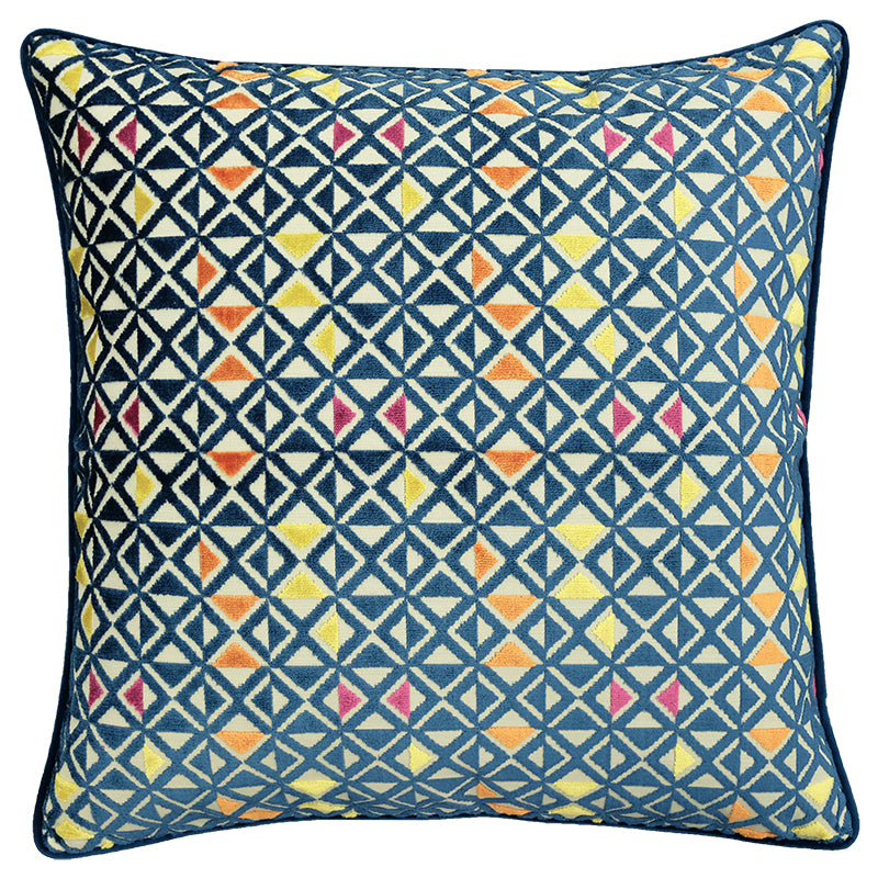 Sebastian Pillows | Size 23X23 | Color Sapphire