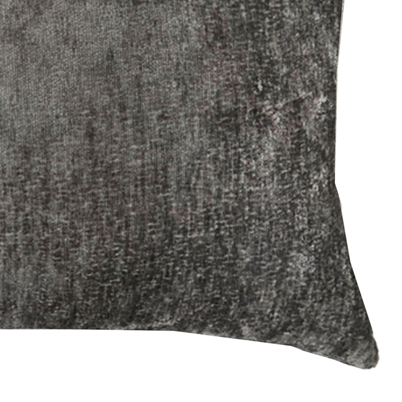 Sersy Pillow | Size 16X28 | Color Pewter