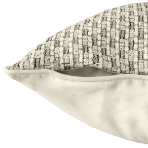 Seville Pillow | Size 23X23 | Color Ivory
