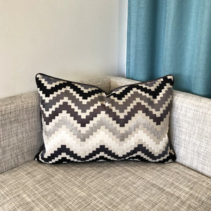 Shaw Pillow | Size 18X26 | Color Gray