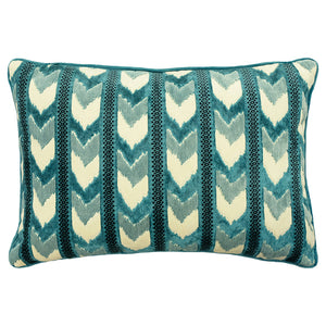 Sienna Pillow | Size 18X26 | Color Peacock