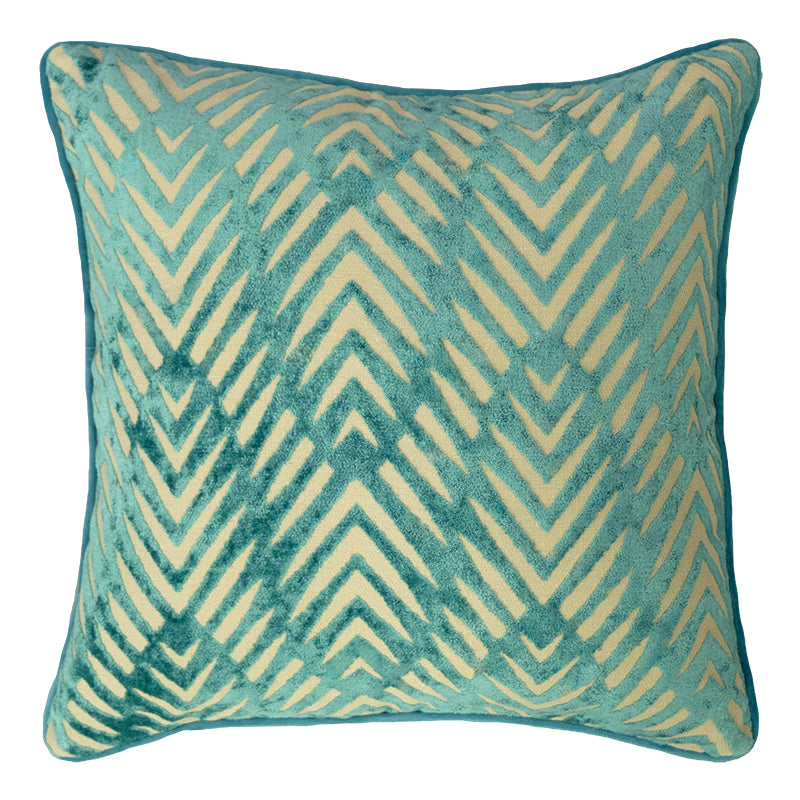 Simba Pillows | Size 20X20 | Color Turquoise