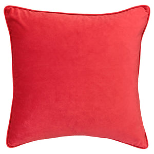 Simba Pillows | Size 20X20 | Color Red