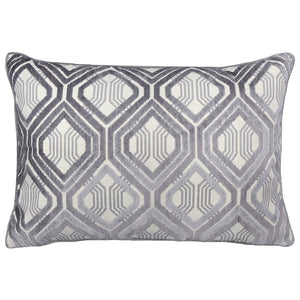 Stefano Pillows | Size 18X26 | Color Gray