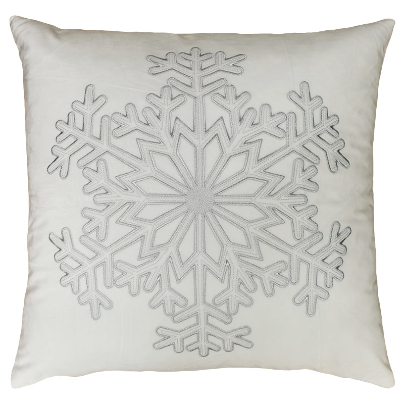 Stellar Pillows | Size 20X20 | Color White/Silver