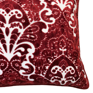 Stevie Pillows | Size 18X24 | Color Red