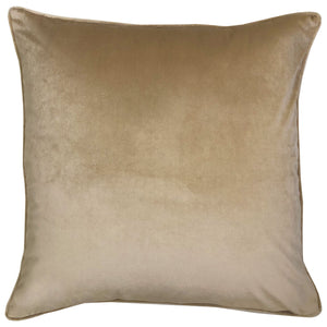 Stevie Pillows | Size 23X23 | Color Gold